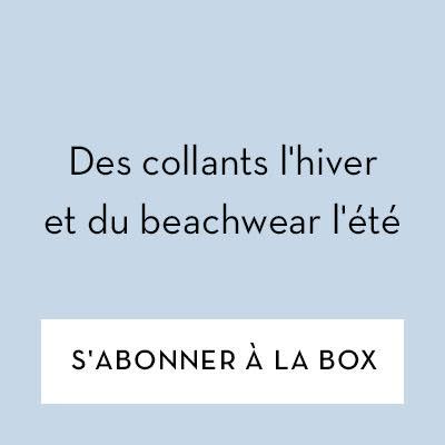 Des collants l'hiver et du beachwear l'été